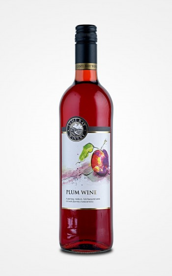 Lyme Bay Winery Plum Wine 75cl    11.0%