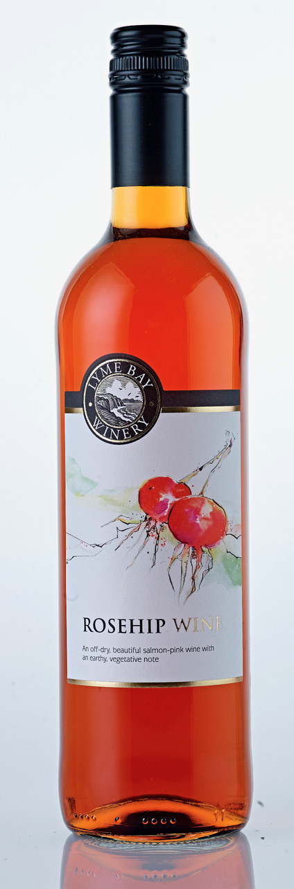 Lyme Bay Winery Rosehip Wine 75cl    12.5%
