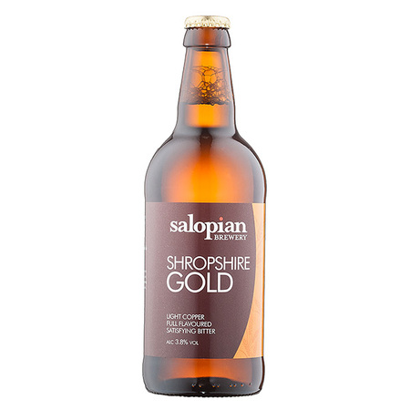 Salopian Shropshire Gold 12 x 500ml    3.8%