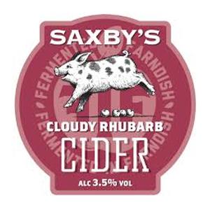 Saxby's Rhubarb 20Ltr Bib Cider    3.5%