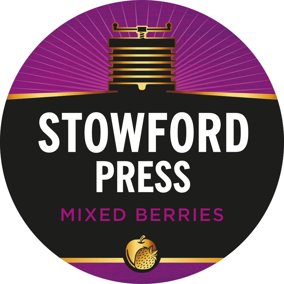 Westons Stowford Press Mixed Berries 11 Gallons    4.0%
