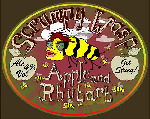 Scrumpy Wasp Apple & Rhubarb 20Ltr Bag in Box Cider    4.0%