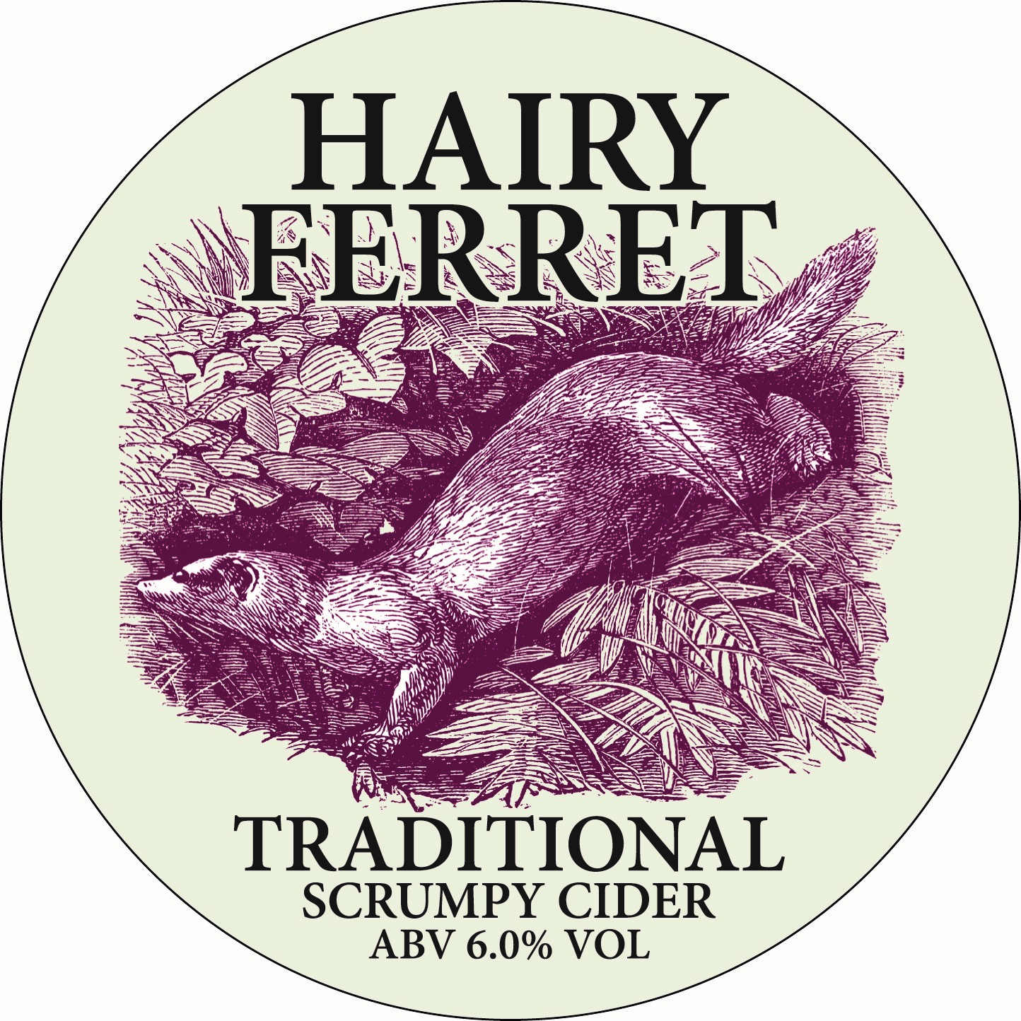 CM Hairy Ferret Traditional Cider 20Ltr Bag In BoxClear 6.0%