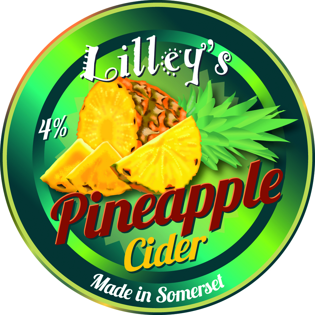 Lilley's Pineapple 20ltr Bag in Box Fruit Cider Sweet 4.0%
