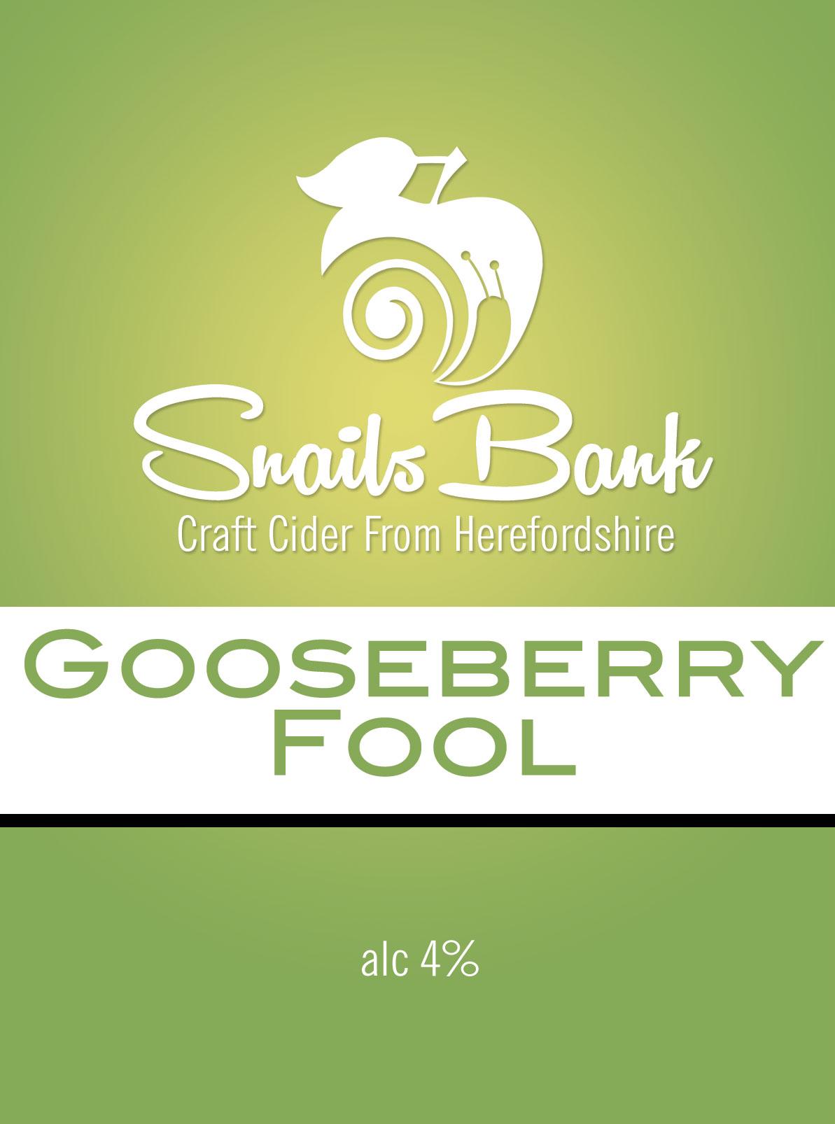 Snails Bank Gooseberry Fool Cider 20ltr BIB 4.0%