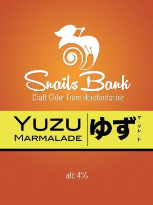 Snails Bank Yuzu Marmalade Cider 20Ltr BIB 4.0%