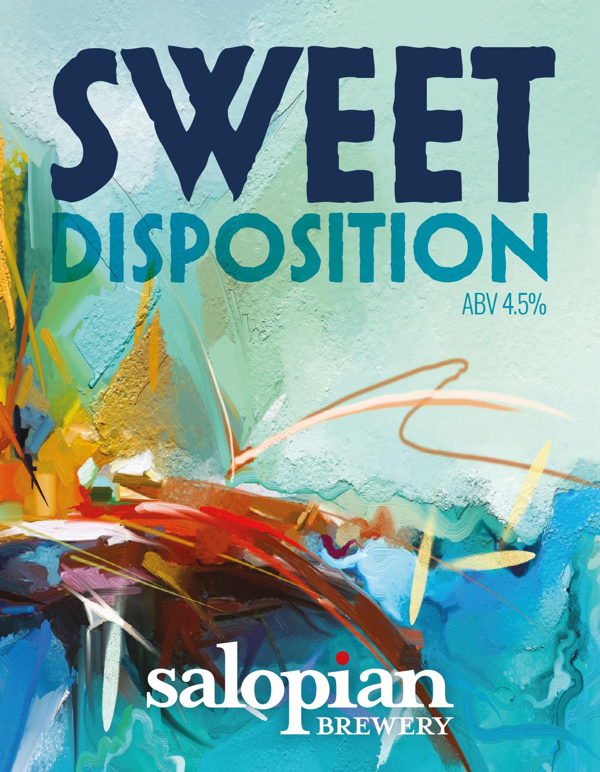 Salopian Sweet Disposition Stout Dark 4.5%