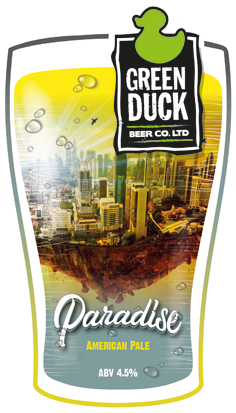 Green Duck Paradise 9 Gallons Pale 4.5%