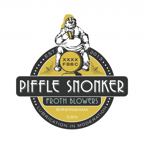 Froth Blowers Piffle Snonker 9 Gallons Pale 3.8%