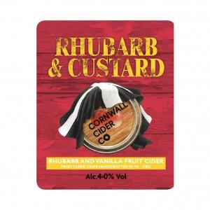 Cornwall Cider Rhuabarb & Custard 20Ltr Bag in Box   4.0%