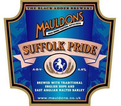 Mauldons Suffolk Pride 9 Gallons Light  4.8%