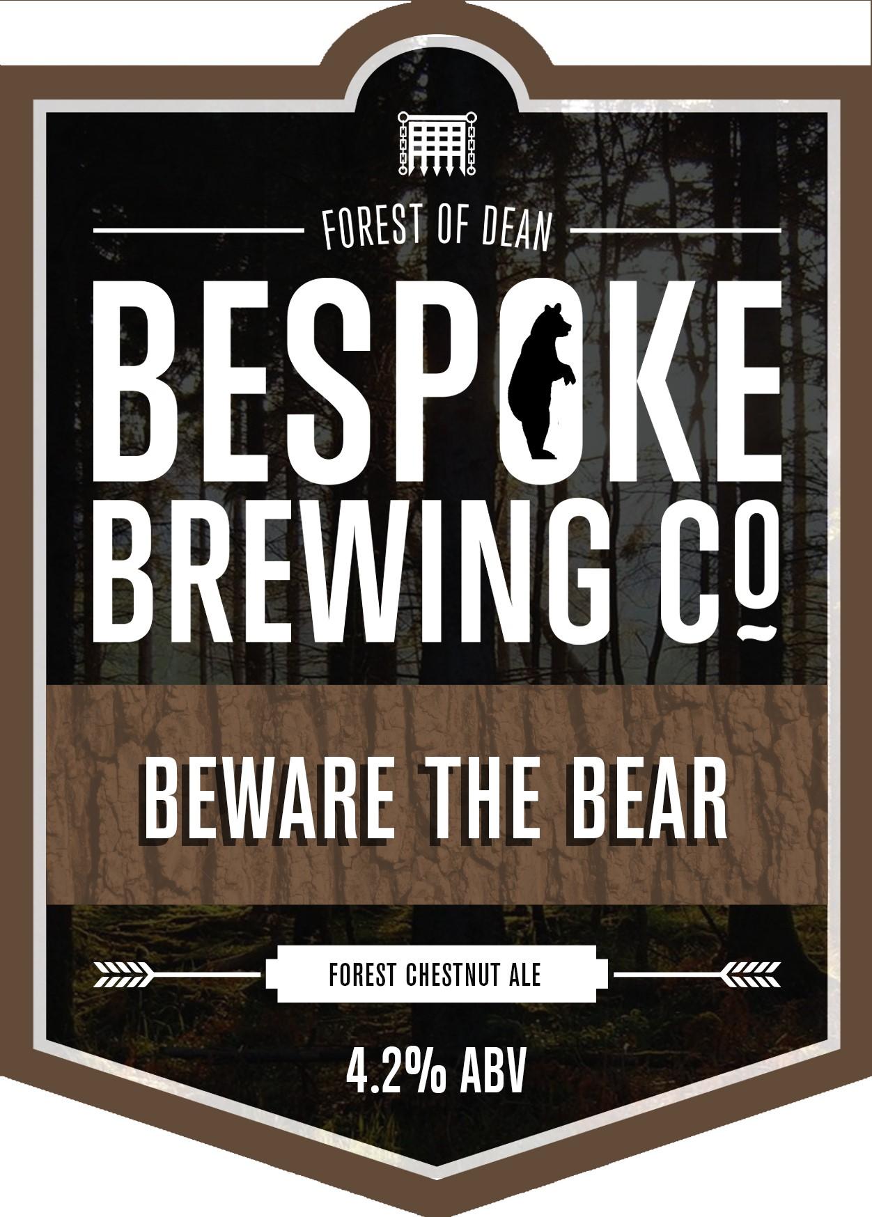 Bespoke Beware The Bear 9 Gallons Chestnut 4.2%