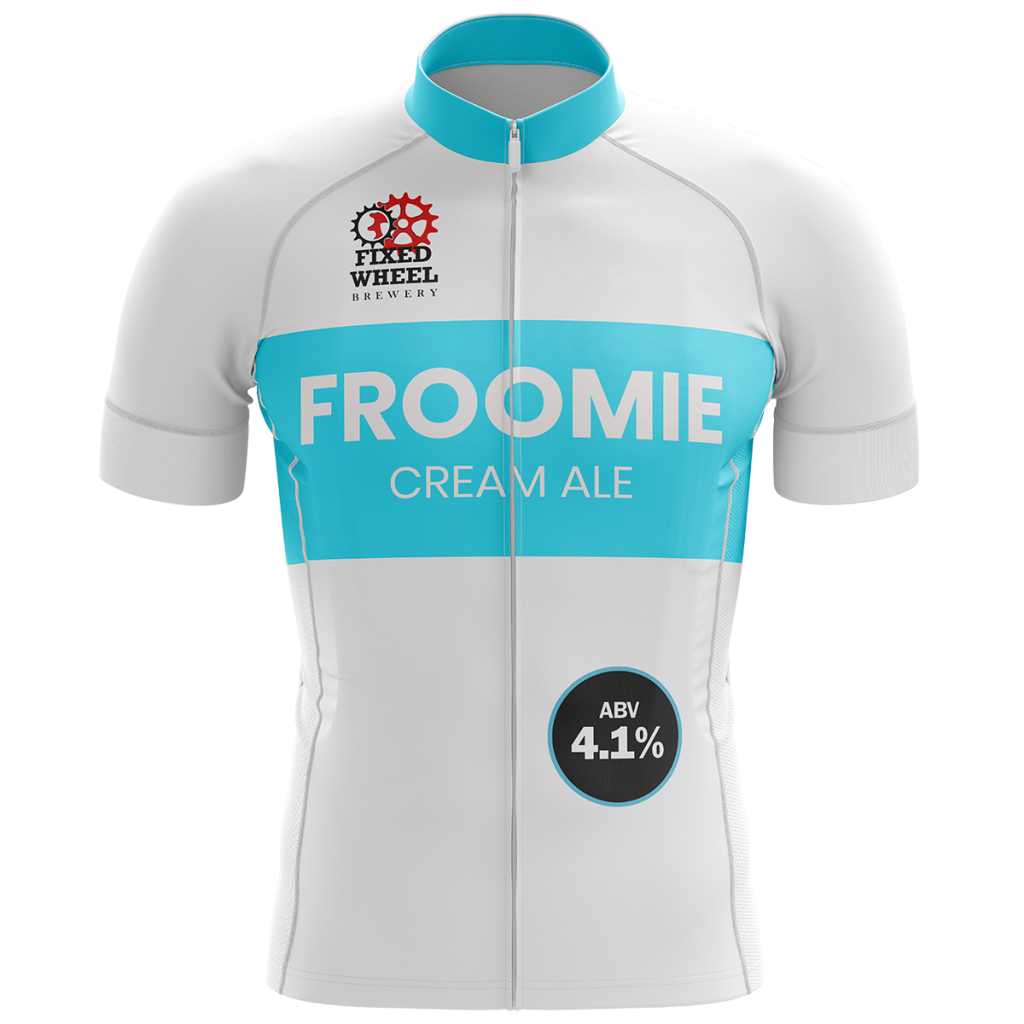 Fixed Wheel Froomie 9 Gallons Pale 4.1%