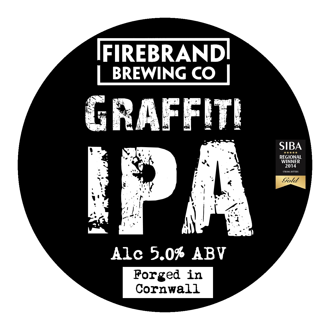 Firebrand Graffiti 9 Gallons Pale 5.0%