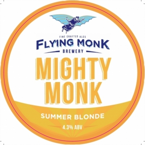 Flying Monk Mighty Monk 9 Gallons Blonde 4.3%