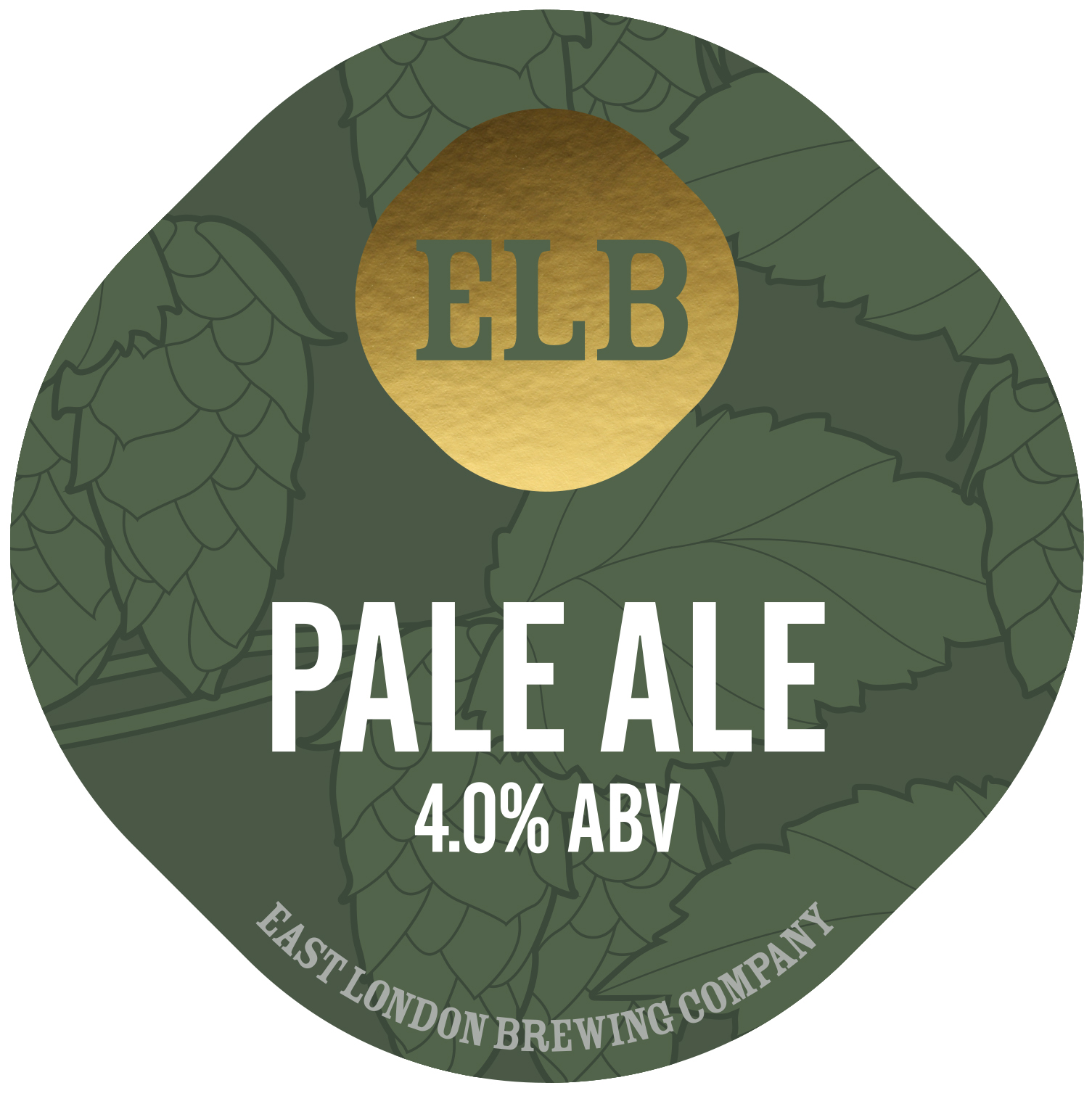 East London Brewing Pale Ale 9 Gallons Pale Gold 4.0%