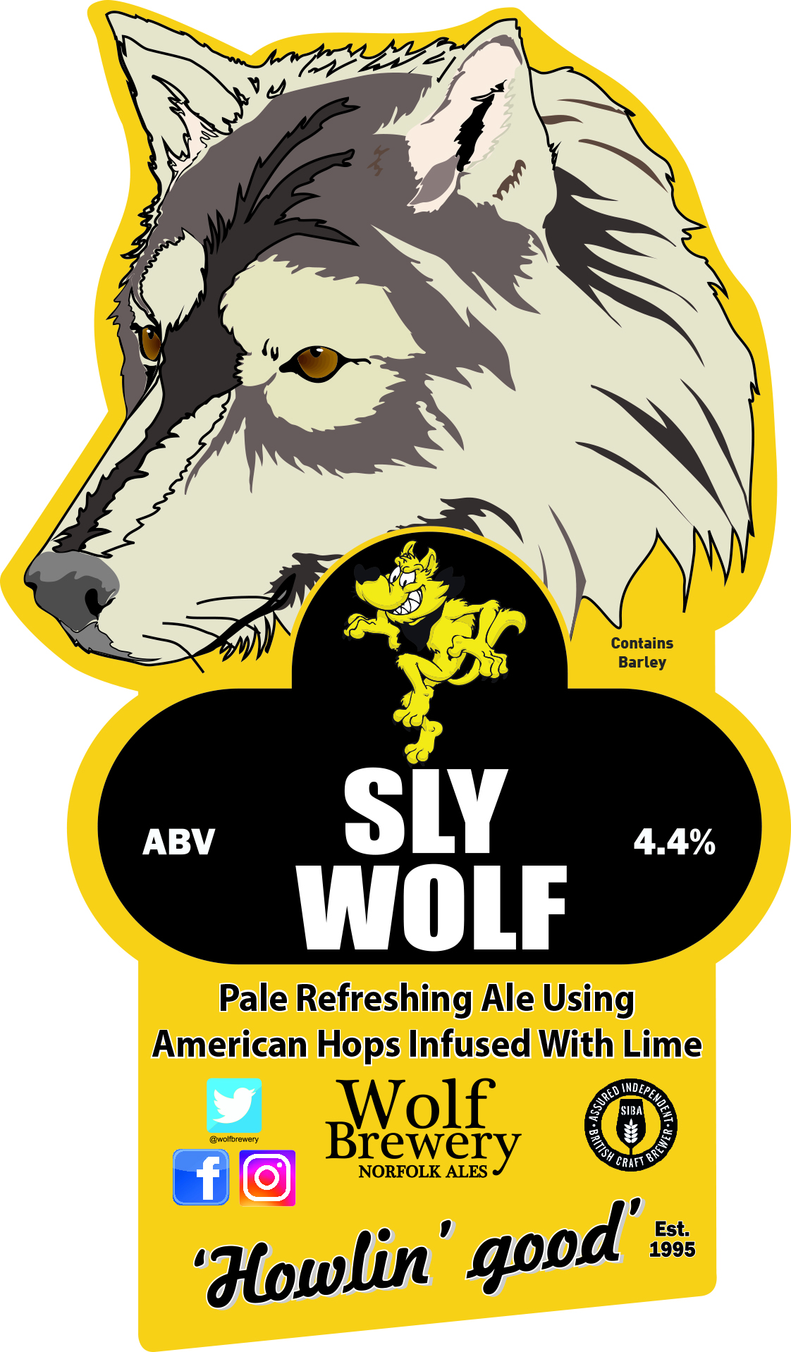 Wolf Sly Wolf 9 Gallons Blonde 4.4%