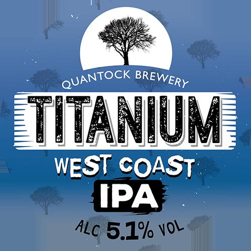 Quantock Titanium 9 Gallons Pale 5.0%