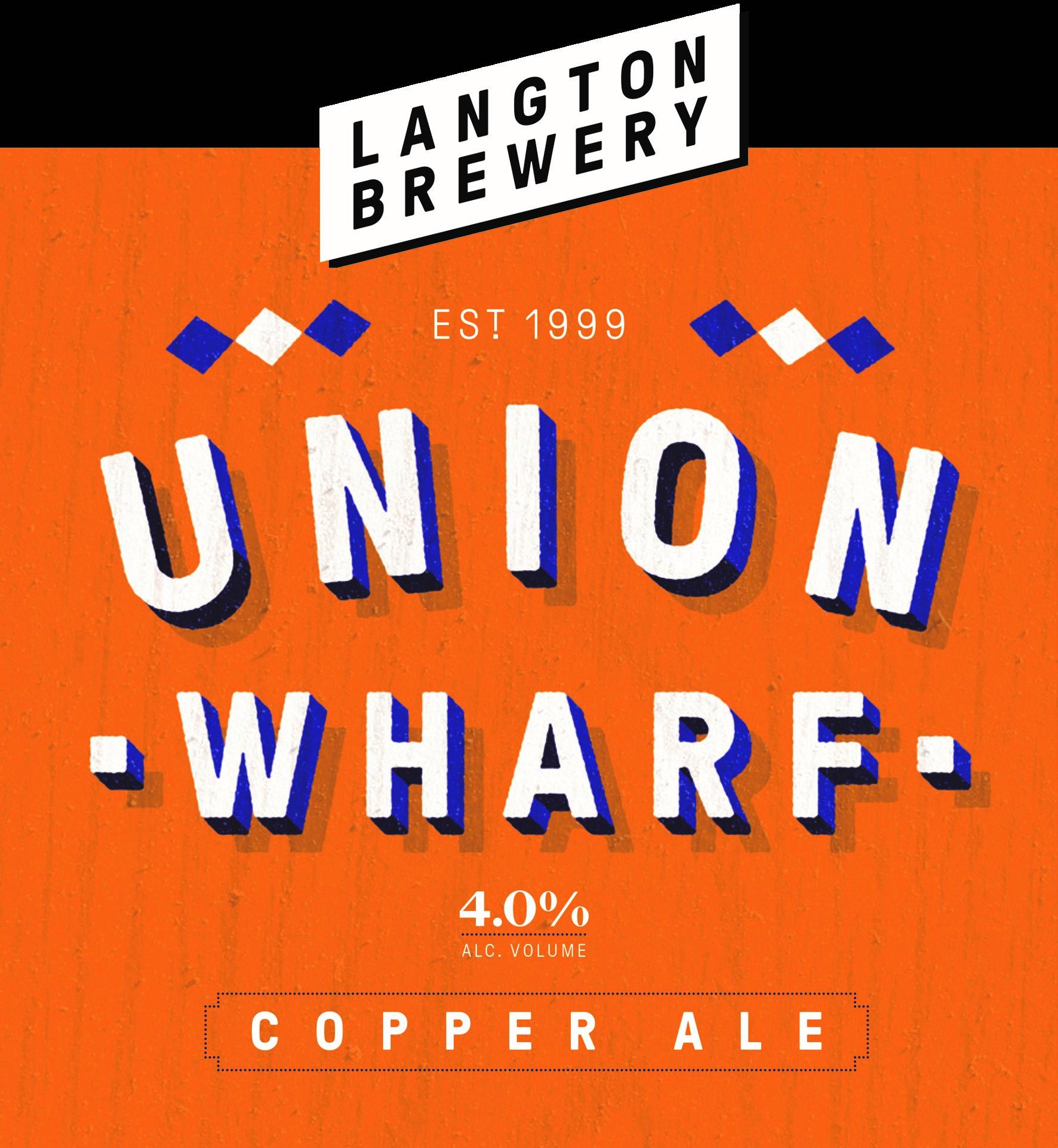 Langton Union Wharf 9 Gallons Copper 4.0%
