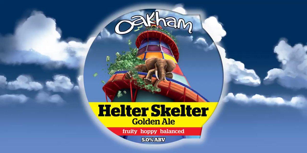 Oakham Helter Skelter 9 Gallons Golden  5.0%