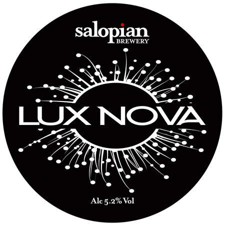Salopian Lux Nova 9 Gallons Golden 5.2%