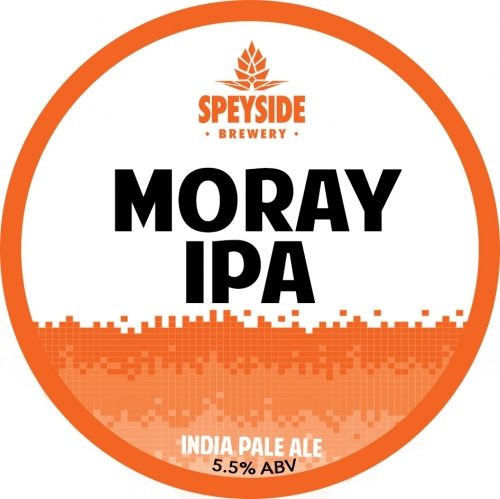 Speyside Moray IPA (Unfined) 9 Gallons Golden 5.5%