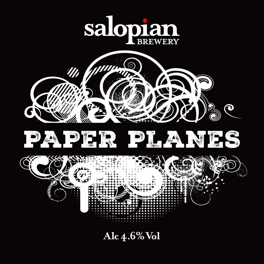 Salopian Paper Planes (Hazy) 9 Gallons Golden 4.6%