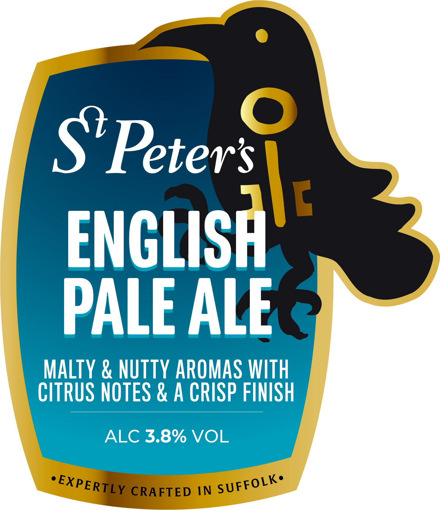 St Peter's EPA 9 Gallons Pale 3.8%