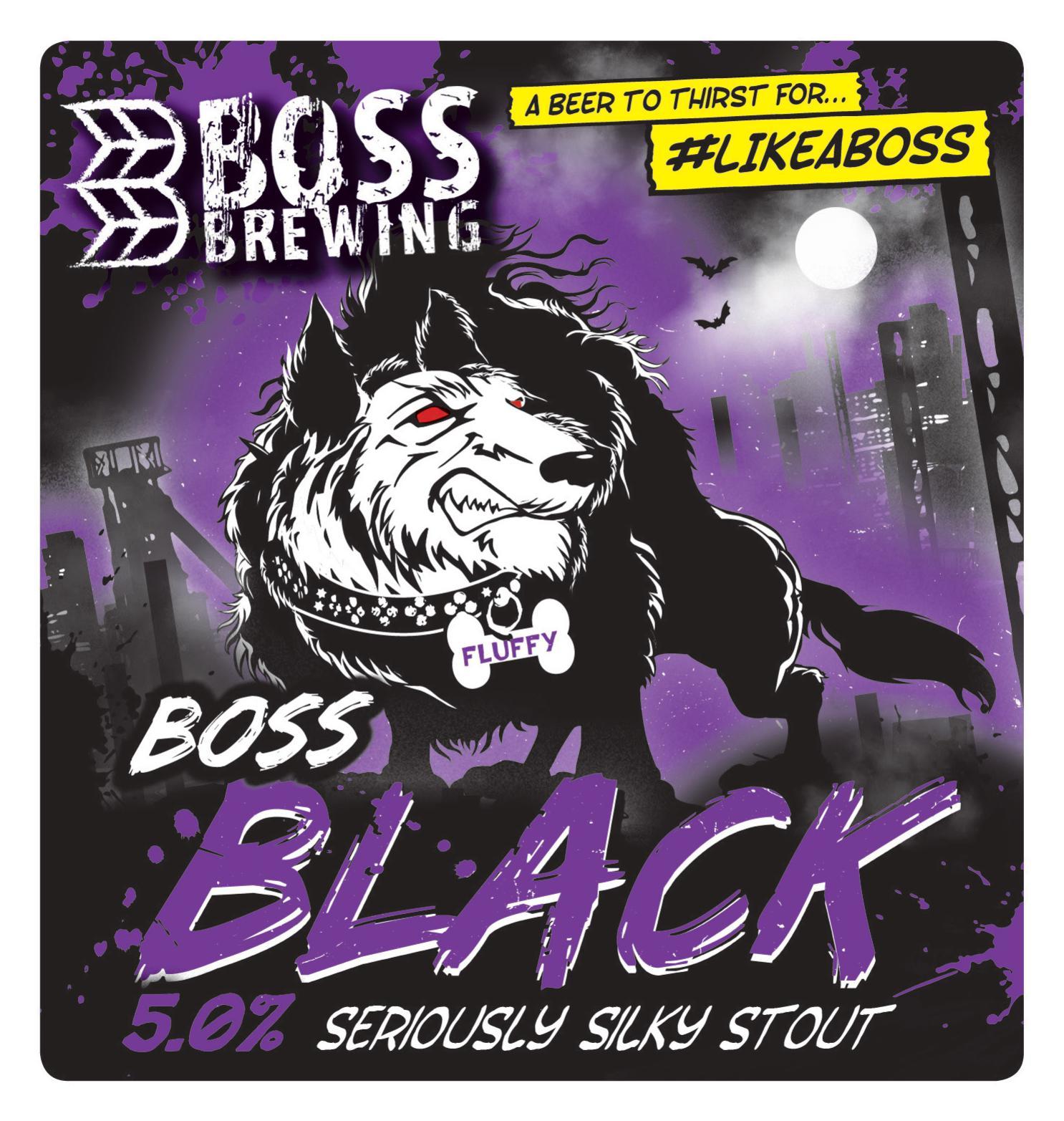 Boss Brewing Black 9 Gallons Black 5.0%