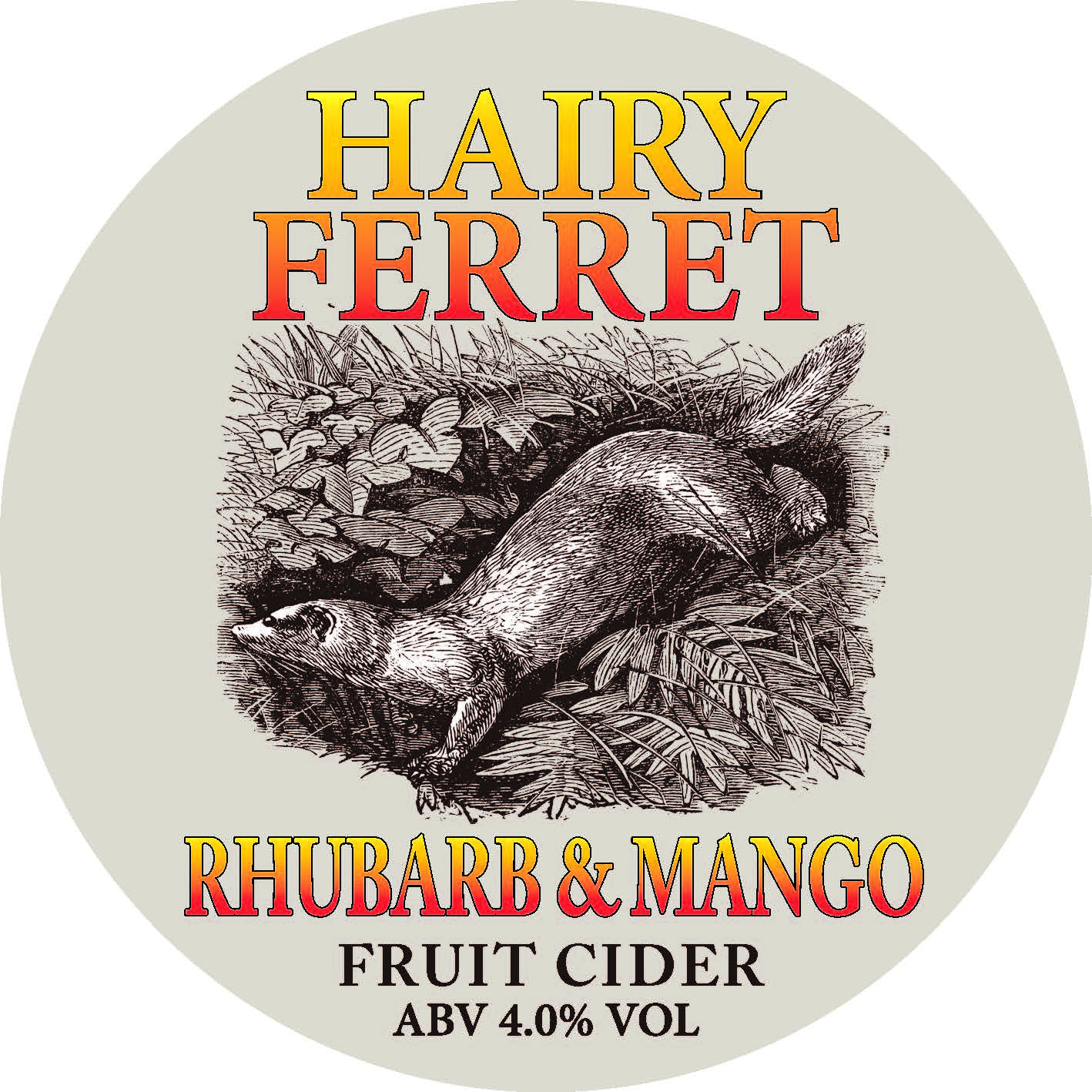 CM Hairy Ferret Rhubarb & Mango Cider 20Ltr Bib 4.0%