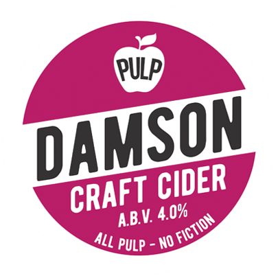 Pulp Damson Cider 20Ltr Bag in Box Med Sweet 4.0%