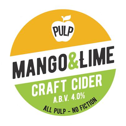 Pulp Mango & Lime Cider 20Ltr Bag in Box 4.0%