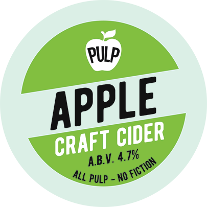 Pulp Apple Cider 20Ltr Bag in Box Med Dry 4.7%