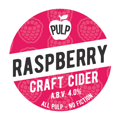 Pulp Raspberry Cider 20Ltr Bag in Box 4.0%