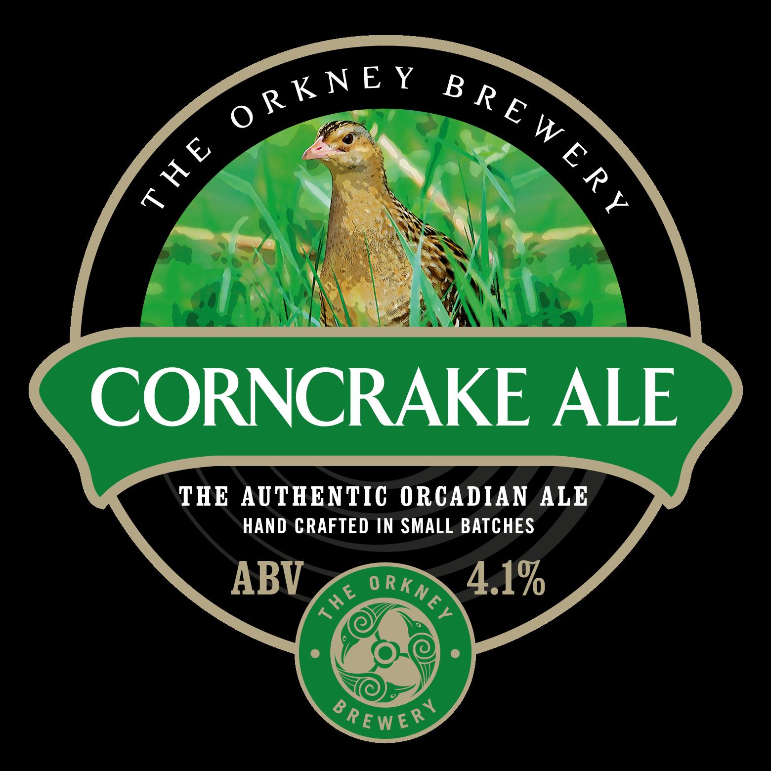 Orkney Corncrake 9 Gallons Golden   4.1%