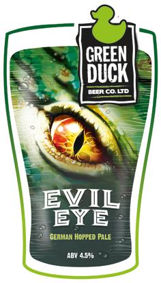 Green Duck Evil Eye 9 Gallons Blonde 4.5%