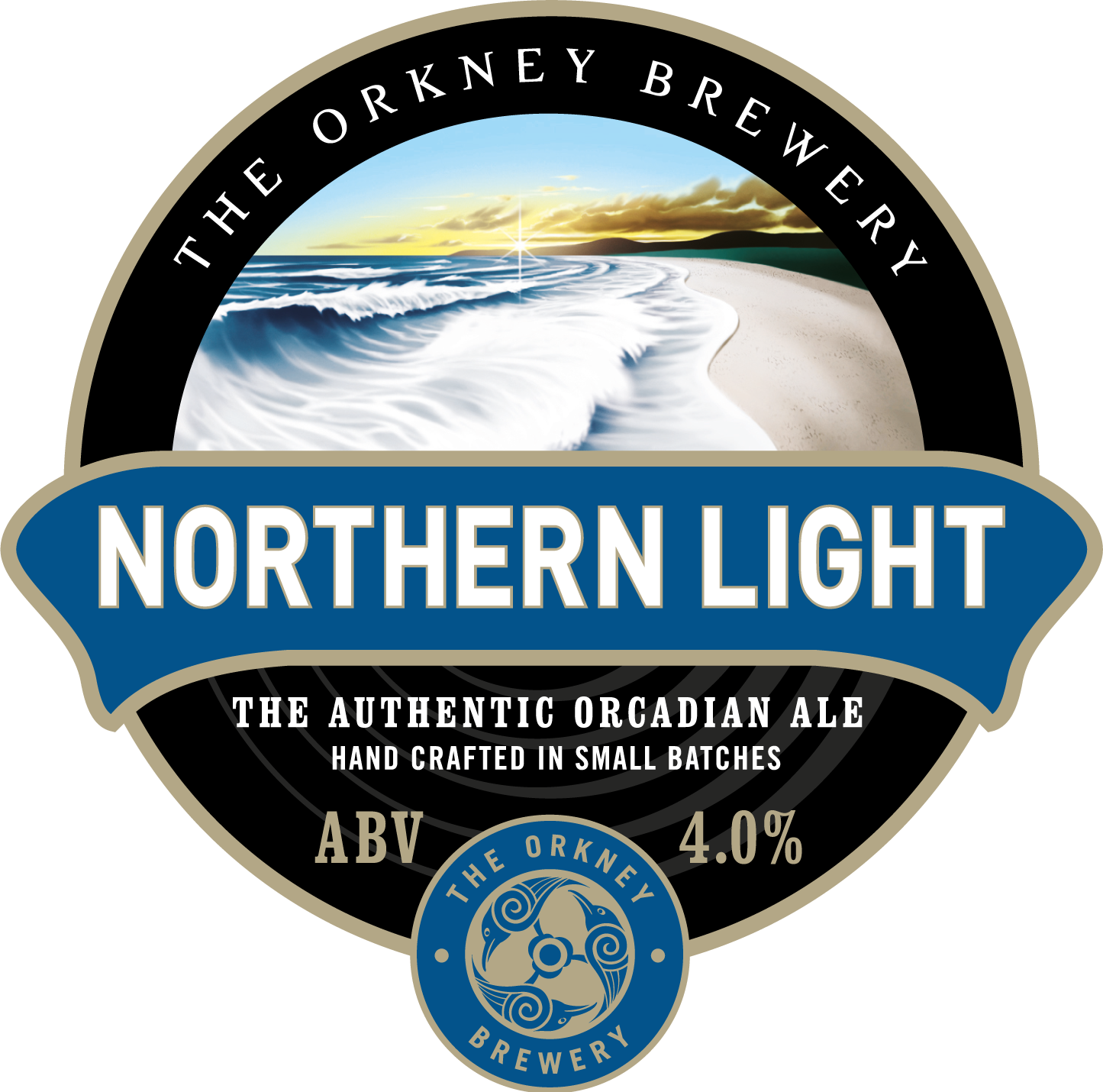 Orkney Northern Light 9 Gallons Pale   4.0%