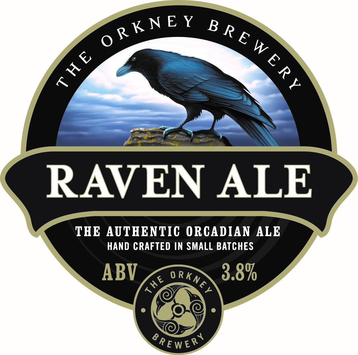 Orkney Raven Ale 9 Gallons Amber   3.8%