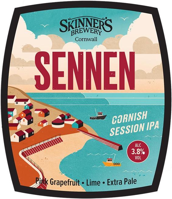 Skinners Sennen IPA 9 Gallons Pale 3.8%