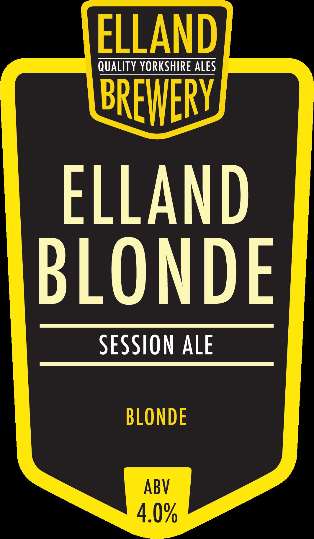Elland Brewery Blonde 9 Gallons Blonde   4.0%