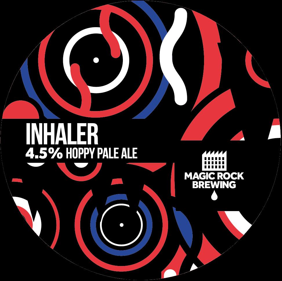 Magic Rock Inhaler 30Ltr Kegstar Pale 4.5%