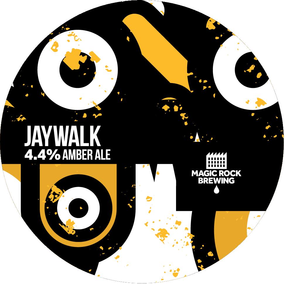 Magic Rock Jaywalk 30Ltr Kegstar Amber 4.4%