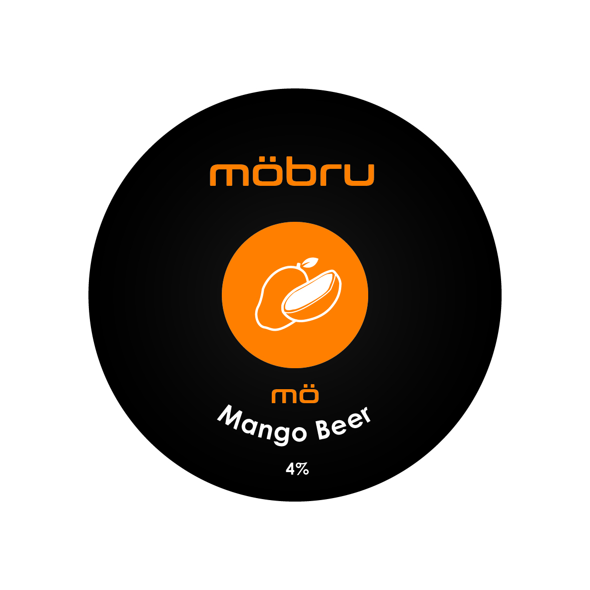 Mobru Mango Fruit Beer 30Ltr E-Keg 4.0%