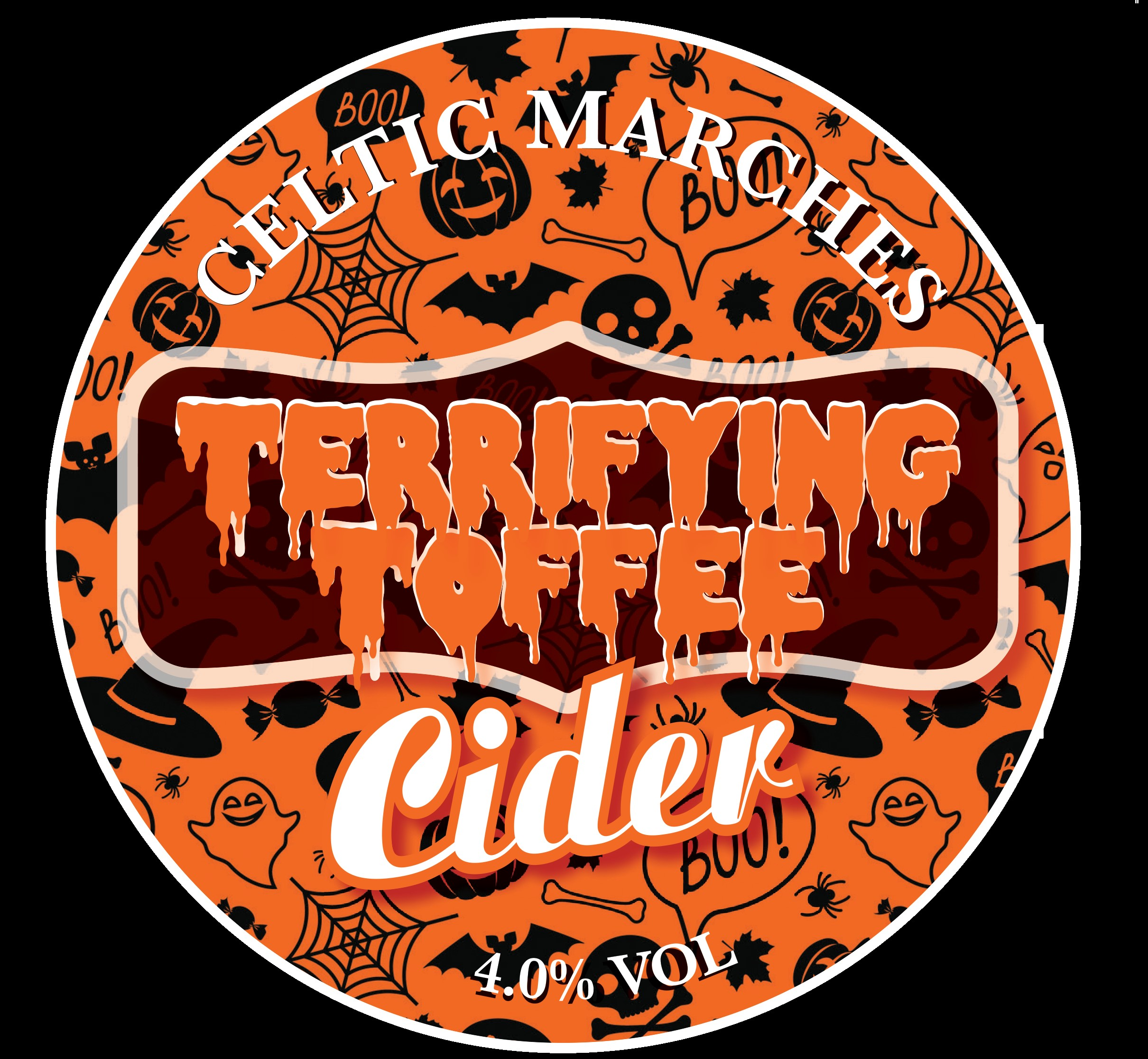 Celtic Marches Terrifying Toffee 10Ltr Bag in Box 4.0%