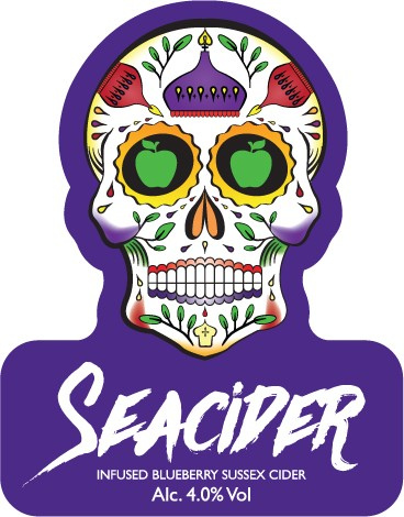 Seacider Blueberry Cider 20Ltr Bag in box 4.0%