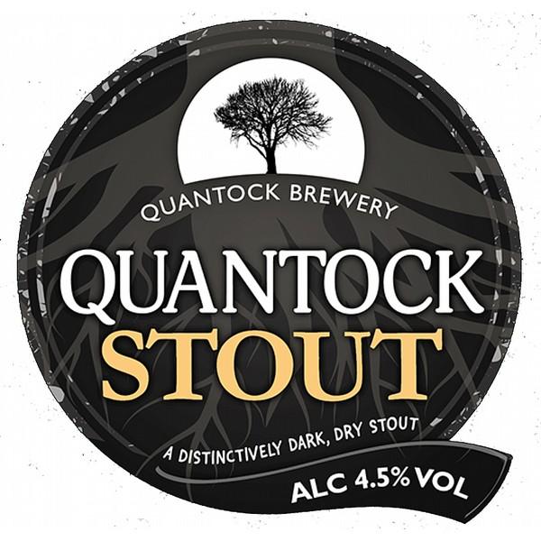 Quantock Stout 9 Gallons Dark   4.5%