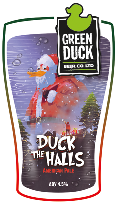 Green Duck Duck The Halls 9 Gallons Pale   4.5%