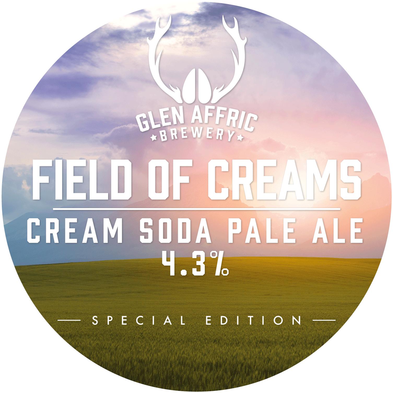 Glen Affric Field Of Creams 30Ltr Kry Keg 4.3%