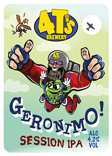 4 T's Brewery Geronimo 9 Gallons Pale 4.2%