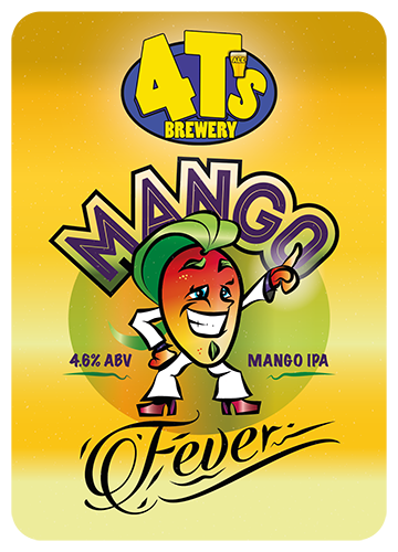 4 T's Brewery Mango Fever 9 Gallons Pale 4.6%